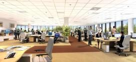 Nowoczesne biura z designerskimi meblami zwiększają efektywność pracowników